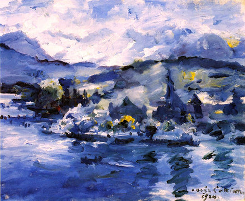 Lovis Corinth Lake Lucerne, Afternoon - Hand Painted Oil Painting