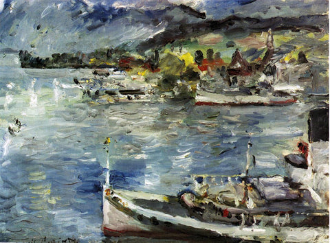 Lovis Corinth Lake Lucerne, Morning - Hand Painted Oil Painting