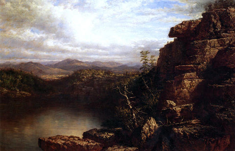 Daniel Huntington Lake Minnewaska - Hand Painted Oil Painting