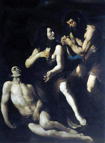 Giovanni Battista Caracciolo Lamentation of Adam and Eve on the Dead Abel - Hand Painted Oil Painting