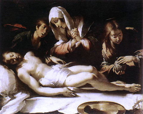 Bernardo Strozzi Lamentation over the Dead Christ - Hand Painted Oil Painting