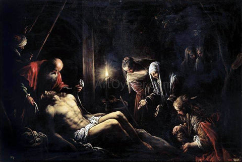 Francesco Bassano Lamentation over the Dead Christ - Hand Painted Oil Painting