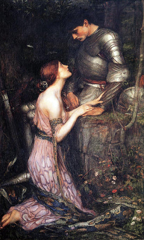 John William Waterhouse Lamia - Hand Painted Oil Painting