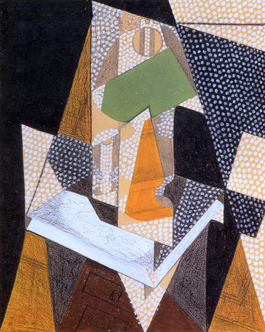 Juan Gris Lamp - Hand Painted Oil Painting