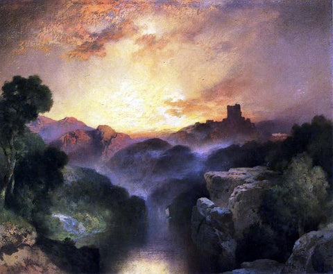 Thomas Moran Land of Dreams - Hand Painted Oil Painting
