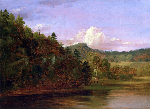 Thomas Cole Landscape (also known as American Lake in Summer) - Hand Painted Oil Painting