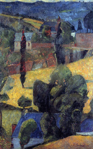 Paul Serusier Landscape - Hand Painted Oil Painting