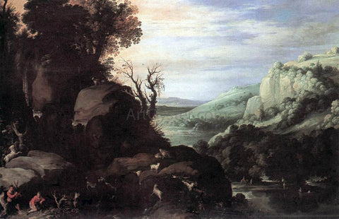 Paul Bril Landscape - Hand Painted Oil Painting