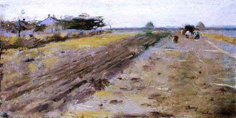 Theodore Robinson Landscape - Hand Painted Oil Painting