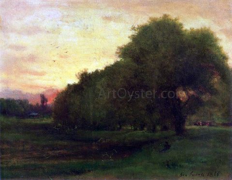 George Inness Landscape - Hand Painted Oil Painting