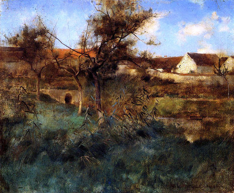 Willard Leroy Metcalf Landscape - Hand Painted Oil Painting