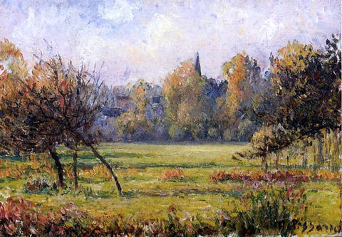 Camille Pissarro Landscape at Bazincourt - Hand Painted Oil Painting