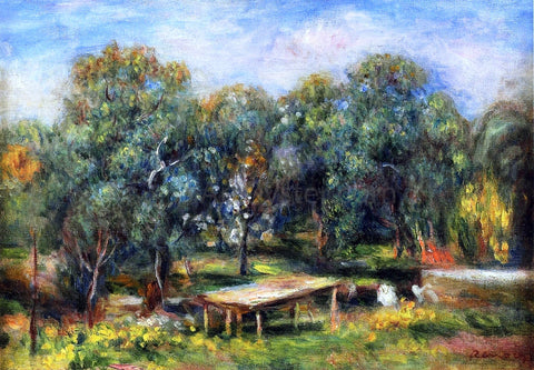 Pierre Auguste Renoir Landscape at Collettes - Hand Painted Oil Painting