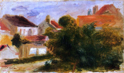Pierre Auguste Renoir Landscape at Essoyes - Hand Painted Oil Painting
