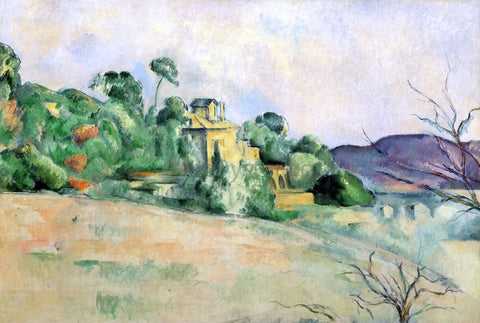 Paul Cezanne Landscape at Midday - Hand Painted Oil Painting