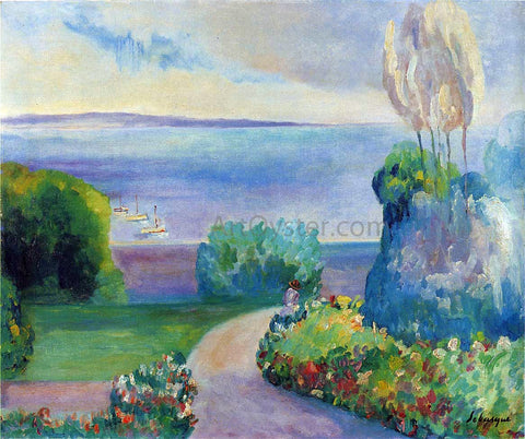 Henri Lebasque Landscape at Prefailles - Hand Painted Oil Painting