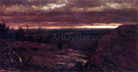 Thomas Worthington Whittredge Landscape at Sunset - Hand Painted Oil Painting