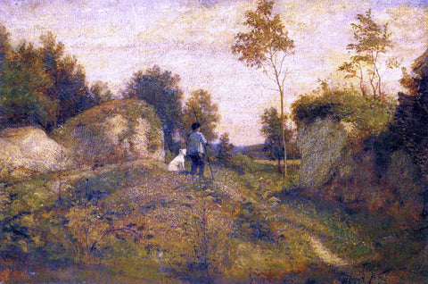 William Morris Hunt Landscape - Hand Painted Oil Painting