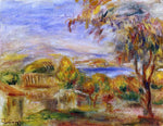 Pierre Auguste Renoir Landscape by the Sea - Hand Painted Oil Painting