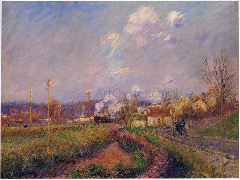 Gustave Loiseau Landscape in Autumn - Hand Painted Oil Painting
