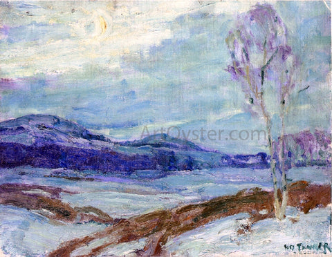 Henry Ossawa Tanner Landscape in Moonlight - Hand Painted Oil Painting
