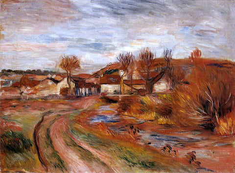 Pierre Auguste Renoir Landscape in Normandy - Hand Painted Oil Painting
