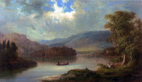 Robert Scott Duncanson Landscape in Scotland - Hand Painted Oil Painting