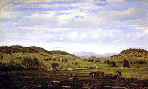 Theodore Rousseau Landscape of Jura, Arbois - Hand Painted Oil Painting