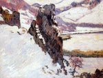 Armand Guillaumin Landscape - the Creuse in the Snow - Hand Painted Oil Painting