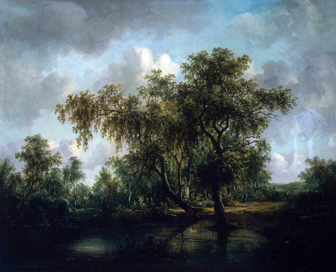 Patrick Nasmyth Landscape with a Pond - Hand Painted Oil Painting