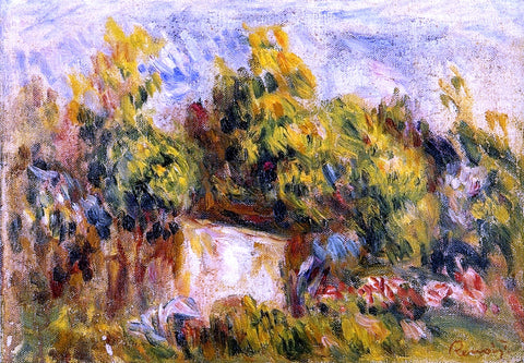 Pierre Auguste Renoir Landscape with Cabin - Hand Painted Oil Painting