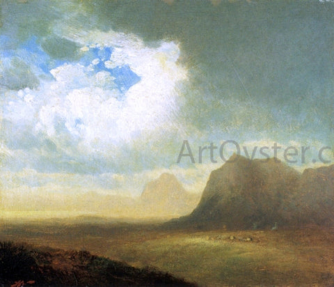 John Williamson Landscape with Cliffs - Hand Painted Oil Painting