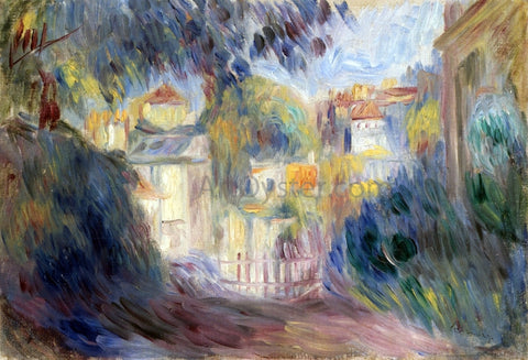 Pierre Auguste Renoir Landscape with Red Roofs - Hand Painted Oil Painting