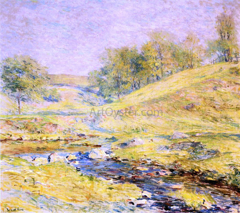 Robert Lewis Reid Landscape with Stream - Hand Painted Oil Painting