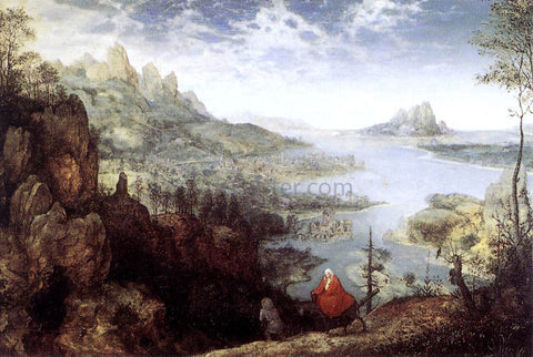 The Elder Pieter Bruegel Landscape with the Flight into Egypt - Hand Painted Oil Painting