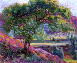 Armand Guillaumin Landscape with Trees and Figures - Hand Painted Oil Painting