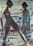 Otto Mueller Large Bathers - Hand Painted Oil Painting