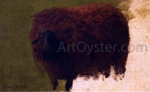 Rosa Bonheur Large Wooly Sheep (also known as Wether) - Hand Painted Oil Painting