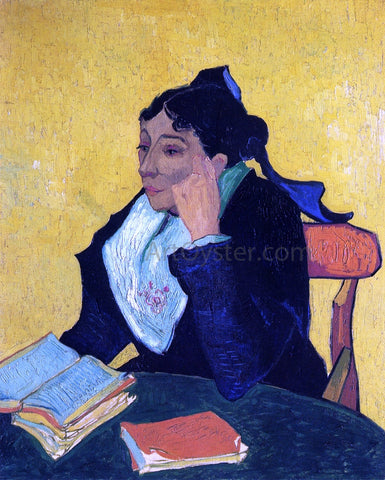 Vincent Van Gogh L'Arlesienne, Portrait of Madame Ginoux - Hand Painted Oil Painting