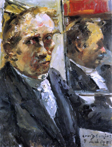 Lovis Corinth Last Self Portrait - Hand Painted Oil Painting