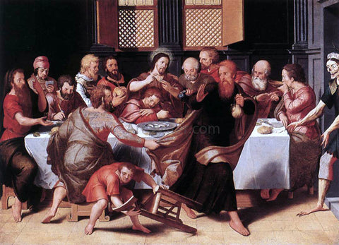 Pieter Pourbus Last Supper - Hand Painted Oil Painting