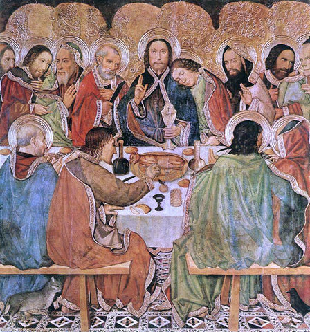 Jaume Huguet Last Supper - Hand Painted Oil Painting