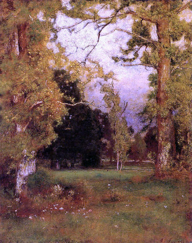 George Inness Late Afternoon - Hand Painted Oil Painting