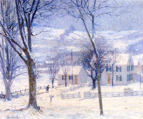 Robert Vonnoh Late for School - Hand Painted Oil Painting