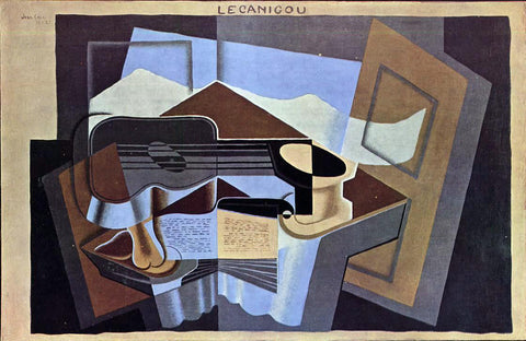 Juan Gris Le Canigou - Hand Painted Oil Painting