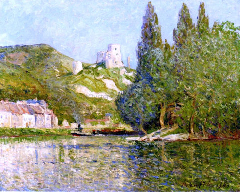 Maxime Maufra Le Chateau-Gaillard - Hand Painted Oil Painting