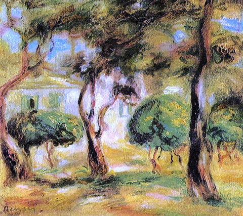 Pierre Auguste Renoir Le Jardin des Collettes - Hand Painted Oil Painting