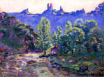Armand Guillaumin Le moulin Brigand et les ruin du Chateau de Crozant - Hand Painted Oil Painting