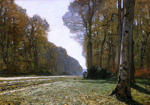 Claude Oscar Monet Le Pave de Chailly - Hand Painted Oil Painting