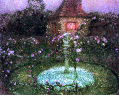 Henri Le Sidaner Le Pavillon - Hand Painted Oil Painting